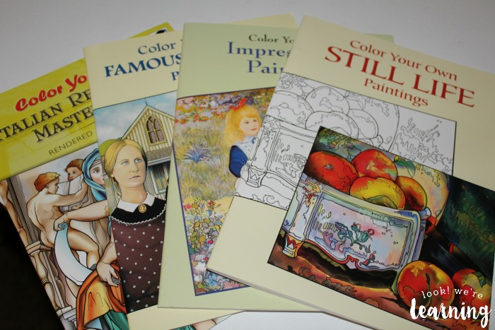 Color Your Own Masterpieces Giveaway