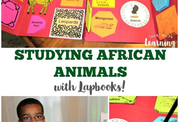 Animals of the African Savannah Lapbook