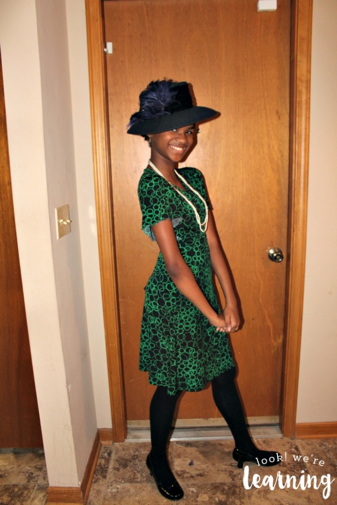 Dressing Up for a Harlem Renaissance Unit