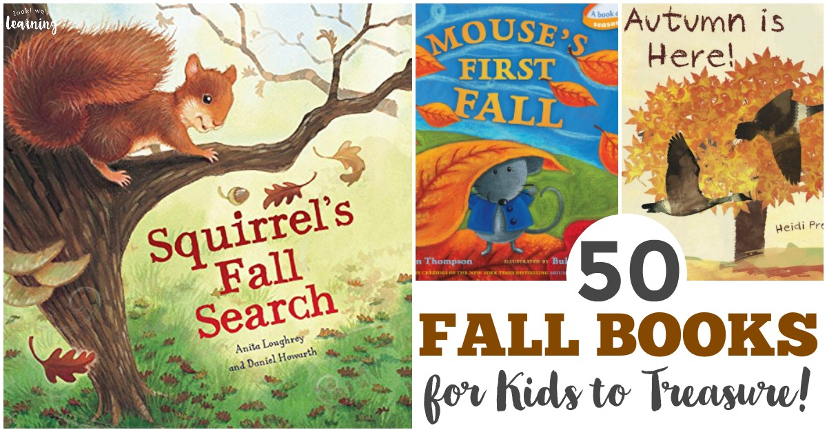 Fall Books for Kids to Share
