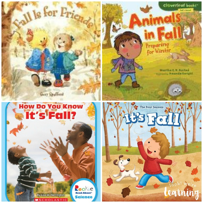 Fall Books for Kids to Read with Parents
