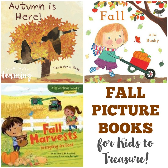 Fall Picture Books for Kids to Treasure as They Grow Up
