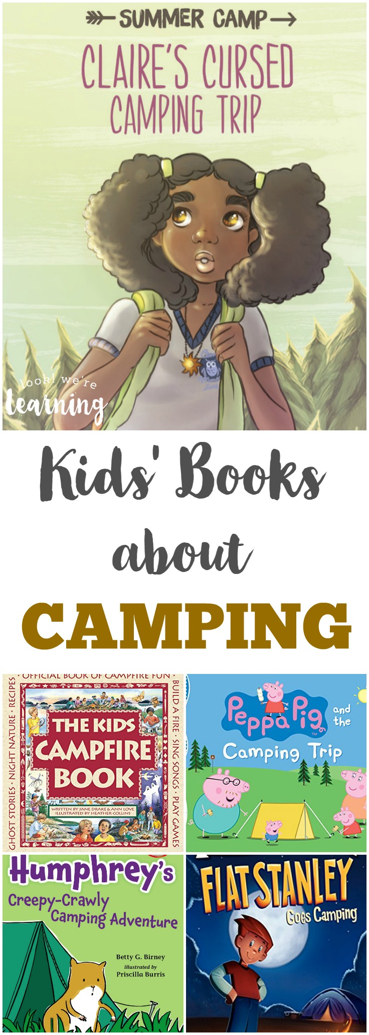 Fun Kids Books about Camping