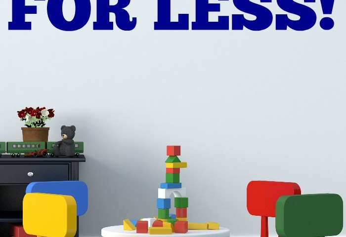 How to Decorate a Playroom for Less