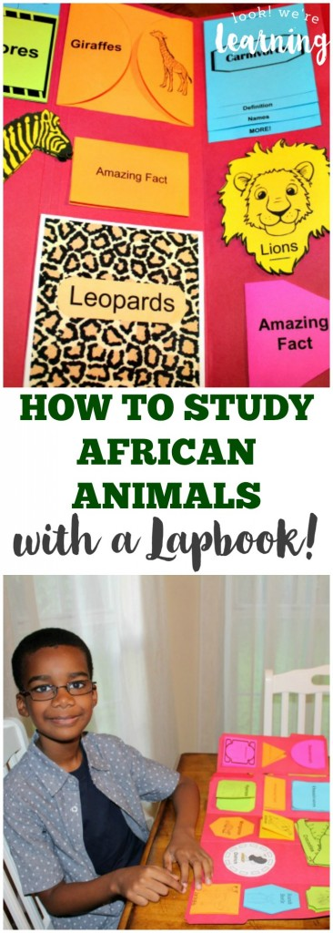 How to Study African Animals with a Lapbook