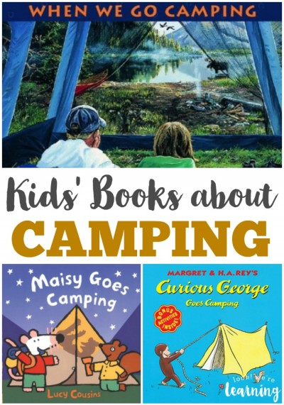 Kids Books about Camping