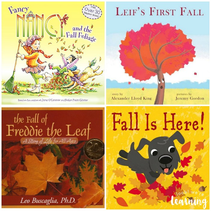 Kids Picture Books about Fall
