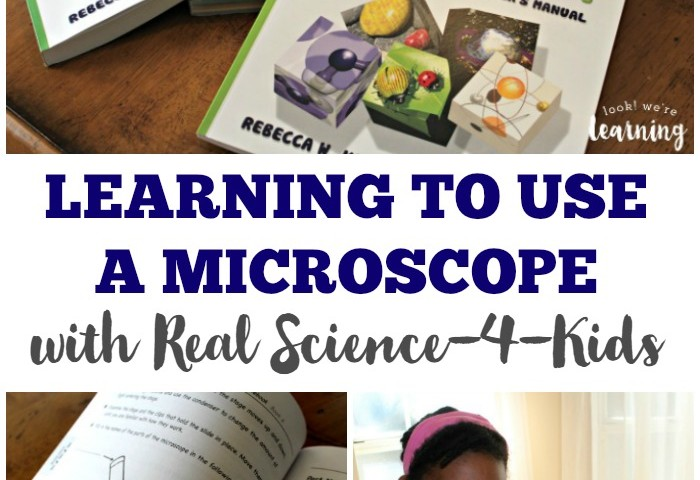 Learning How to Use a Microscope in Middle School with Real Science-4-Kids