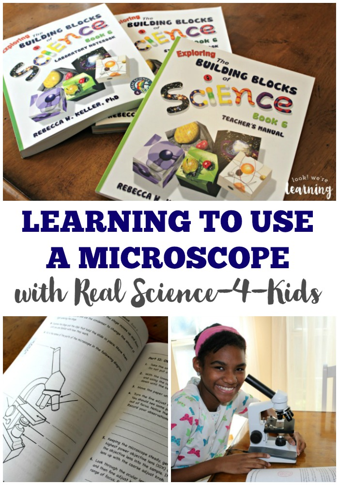 Learning to Use a Microscope with Real Science-4-Kids