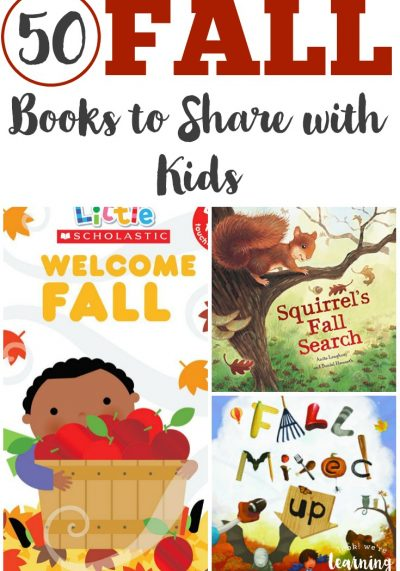 Make this fall one to treasure with the kids with this list of 50 wonderful fall books for kids to read!