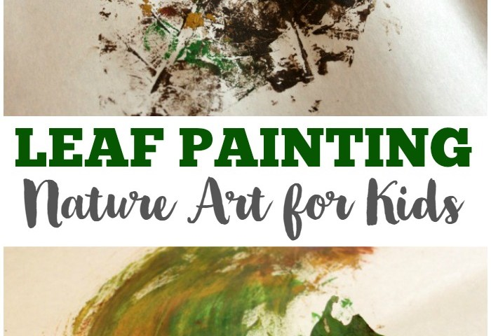 Easy Nature Art: Leaf Painting for Kids