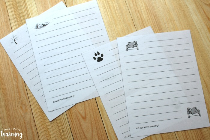 Printable Hibernation Notebooking Pages for Kids