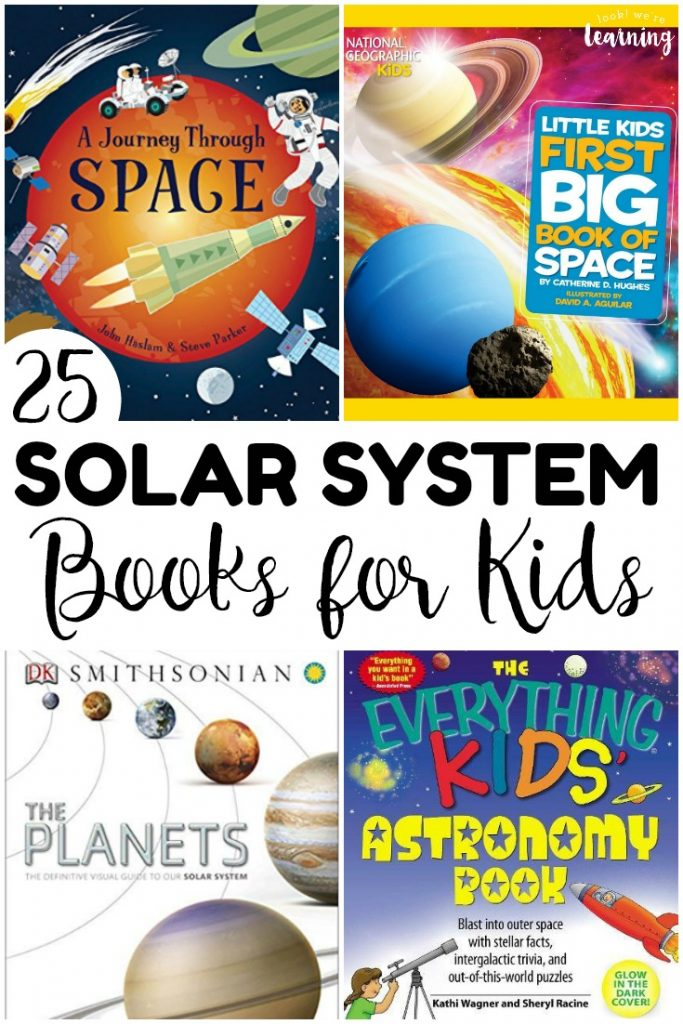 Share a trip into space with the kids when you read these amazing books about the solar system together! These would make perfect read alouds for a solar system unit!