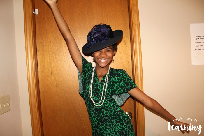 Simple DIY Harlem Renaissance Costume
