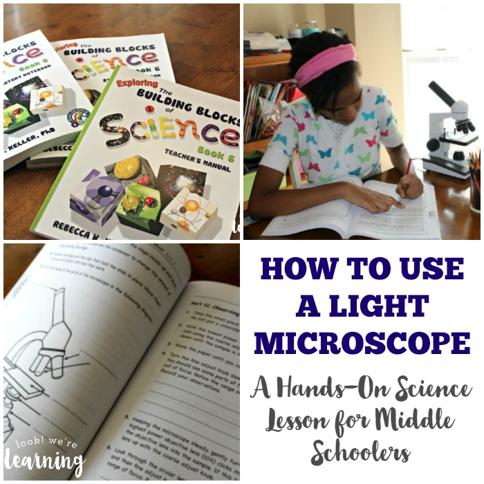 Teaching Middle Schoolers to Use a Light Microscope