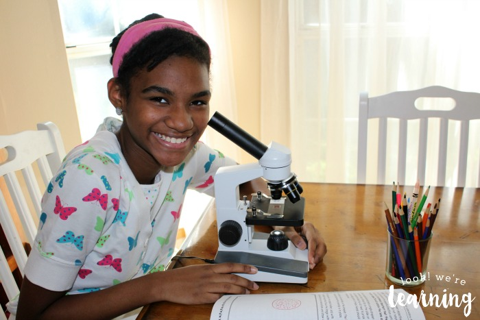 Teaching Middle Schoolers to Use a Microscope