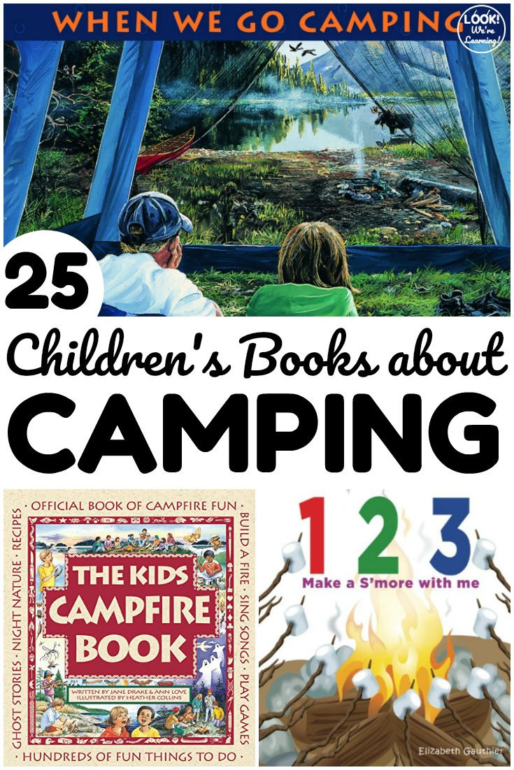 These fun camping books for kids feature plenty of stories you'll love to share around the campfire!