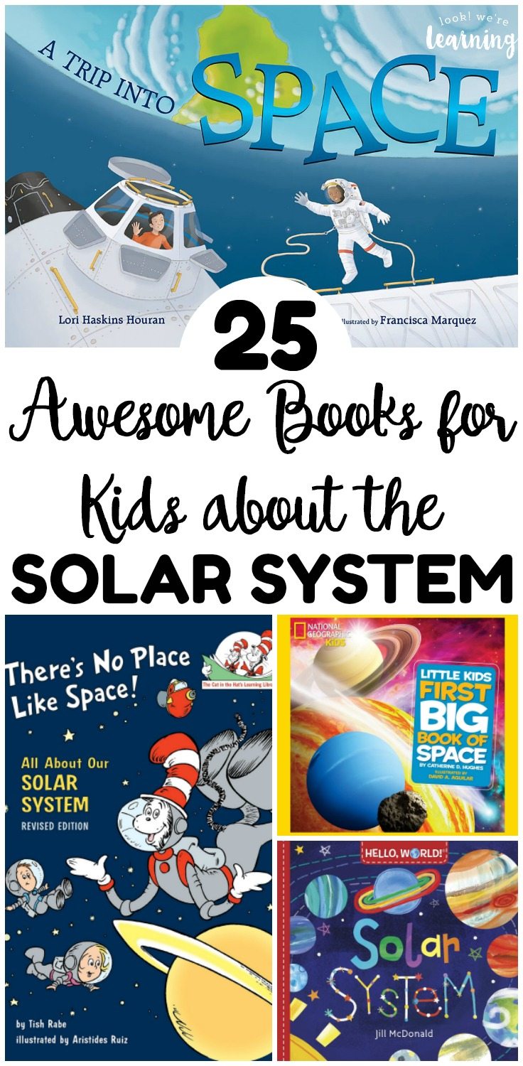 These incredible books about the solar system are a wonderful way to introduce kids to our planetary neighbors! These would be great for a space or solar system unit!