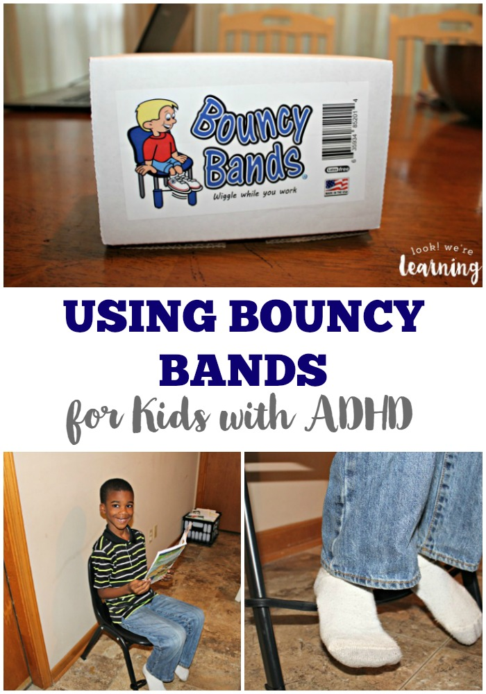 Using Bouncy Bands for Kids with ADHD