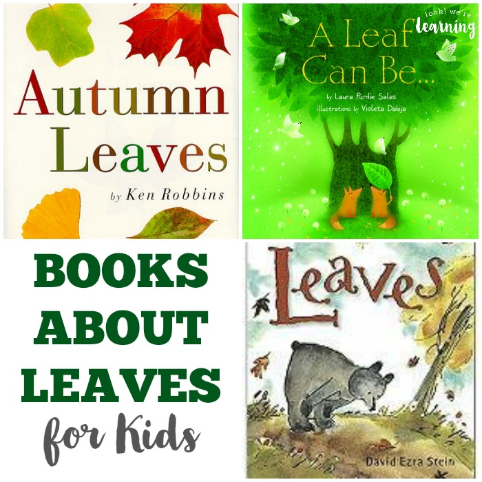 Books about Leaves for Kids