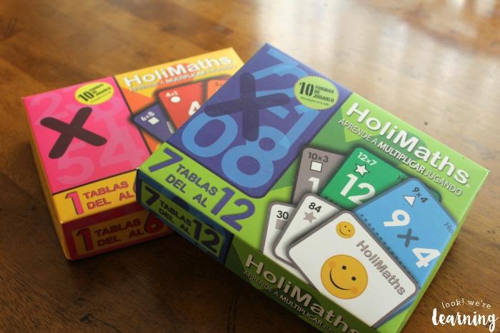 HoliMaths Multiplication Card Game