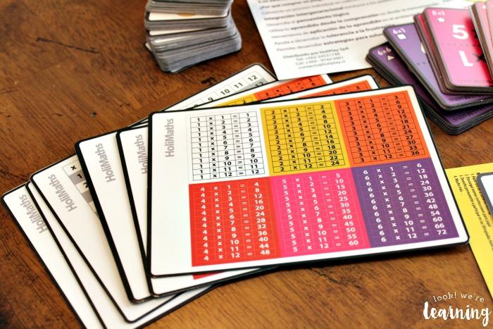 HoliMaths Multiplication Tables