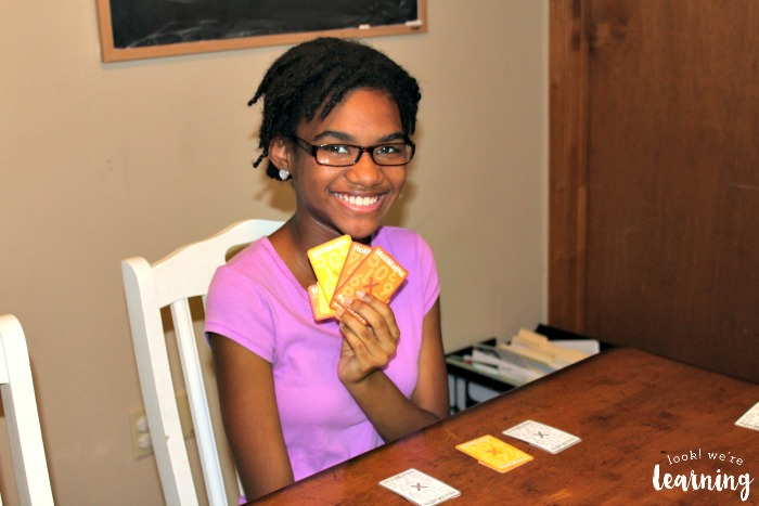 Making Matches with HoliMaths Multiplication Card Game
