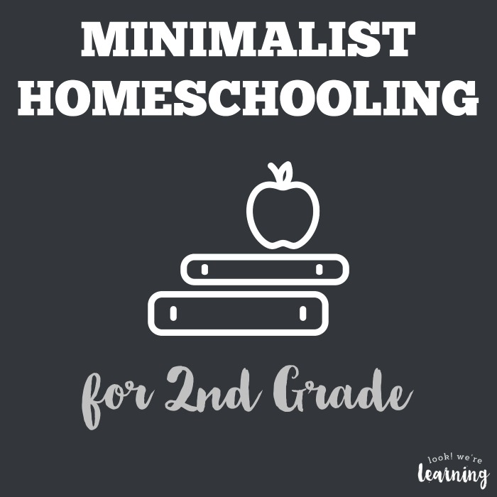 Minimalist Homeschool Program for 2nd Grade