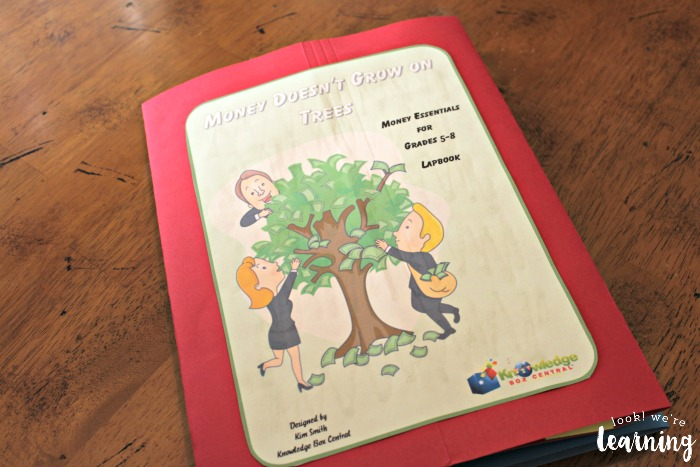 money-doesnt-grow-on-trees-lapbook-cover