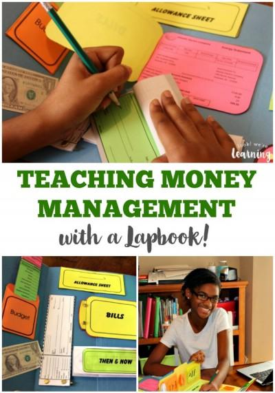 Money Management Skills Lapbook for Middle School