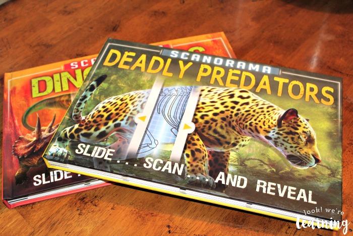 Scanorama Deadly Predators Book