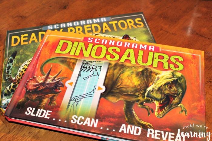 Scanorama Dinosaurs Book
