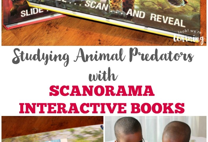 Interactive Homeschool Science with Scanorama Books!