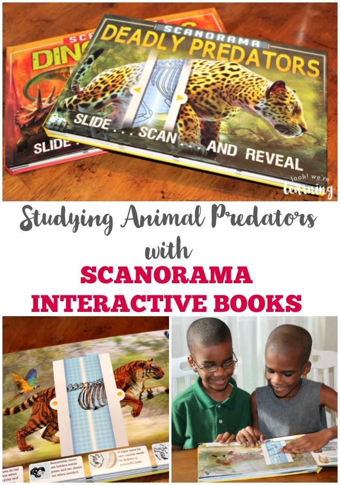 Studying Animal Predators with Scanorama Interactive Books