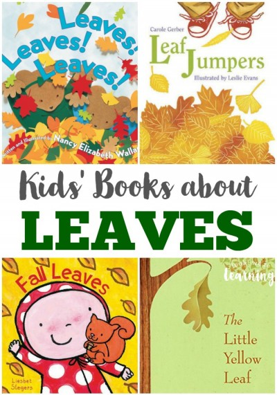 These kids' books about leaves are packed with gorgeous illustrations - perfect for reading this fall!