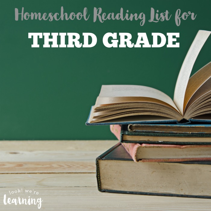 Third Grade Reading List for Homeschoolers