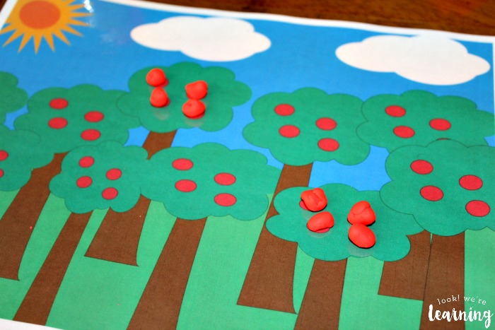 Using the Apple Tree Counting Mat