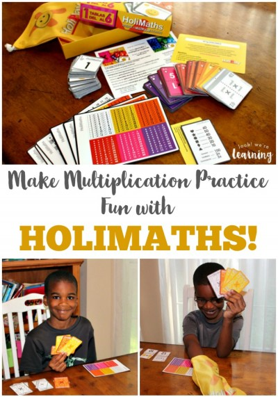 We're loving the HoliMaths Multiplication Card Game - It's a great way for kids to make multiplication practice fun!