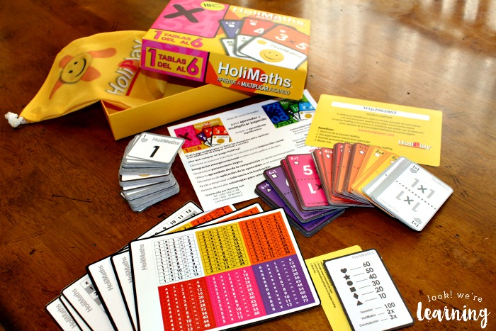 What's In the HoliMaths Game Box