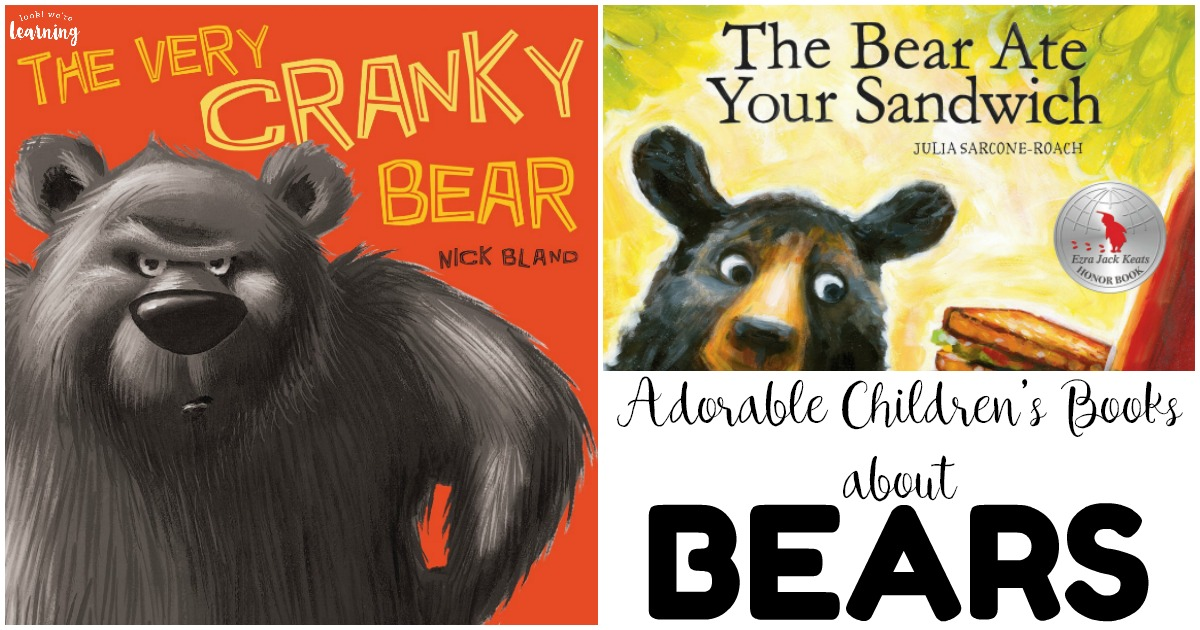 20 Adorable Bear Books for Kids to Read