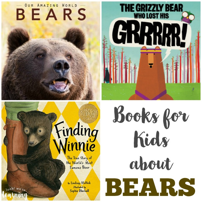 Bear Books for Kids - Look! We're Learning!