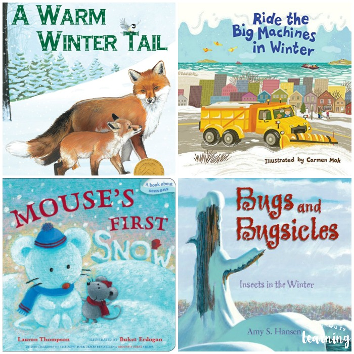 Books for Children to Read about Winter