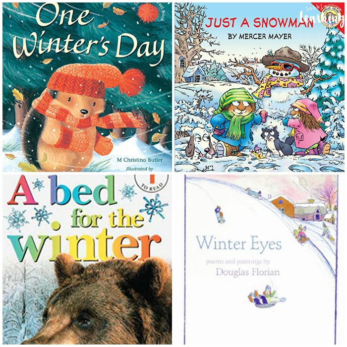 winter books for kids look were learning