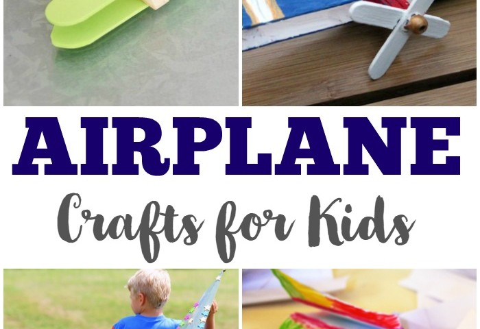 25 Airplane Crafts for Kids