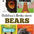 These bear books for kids feature nonfiction selections and storybooks about these mammals!