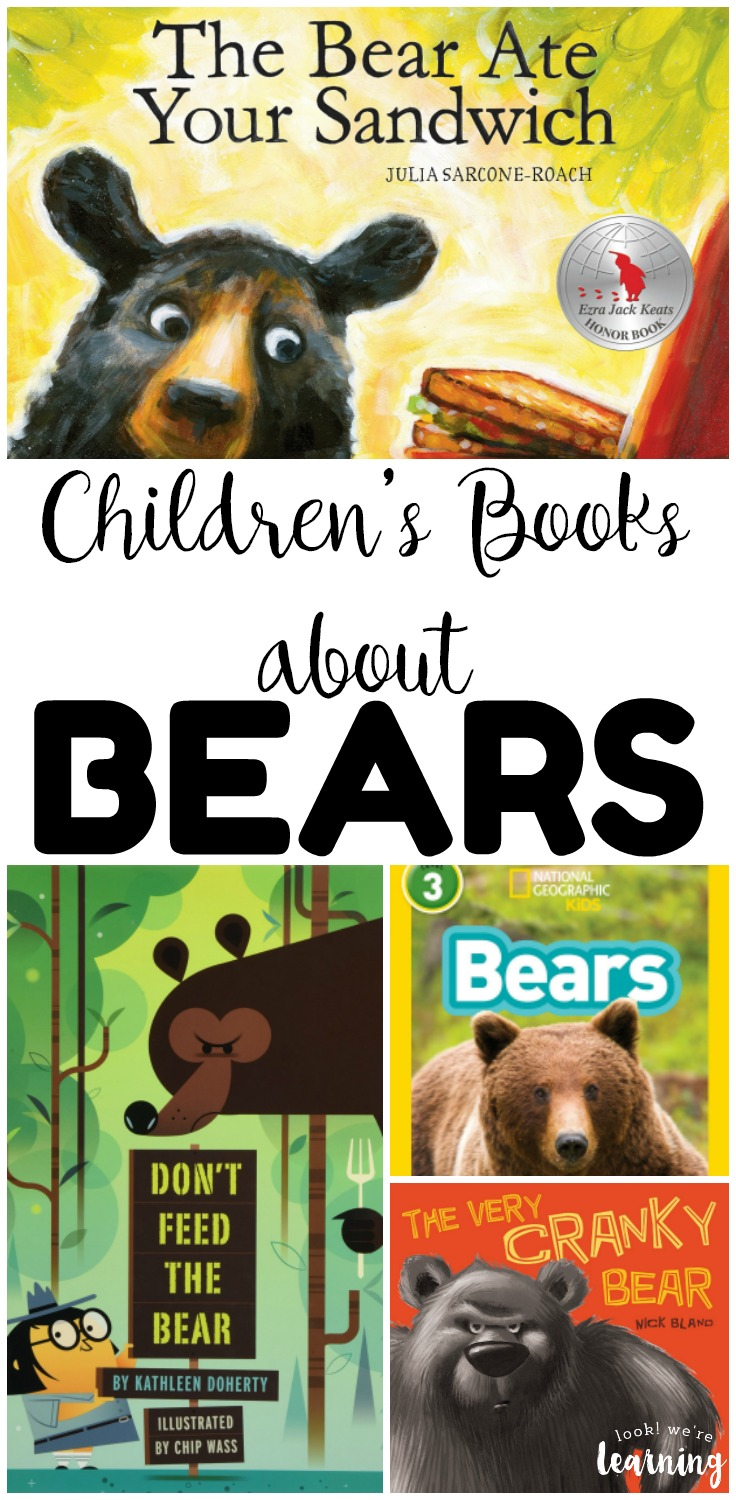 These books about bears are wonderful for sharing read aloud time during the winter! Learn bear facts and read cozy bear stories with kids!