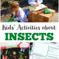 These fun insect activities for kids are perfect for learning about our creepy-crawly animal friends!