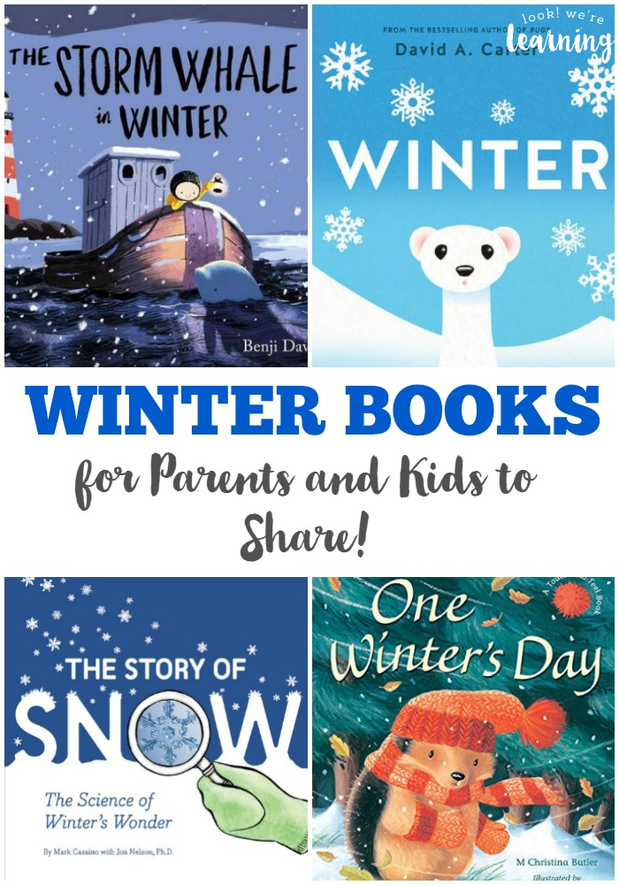 These winter books for kids are great for sharing as a family!