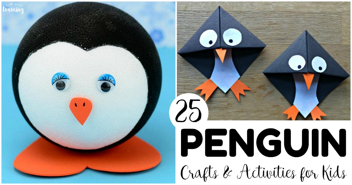 25 Fun Penguin Crafts and Activities for Kids