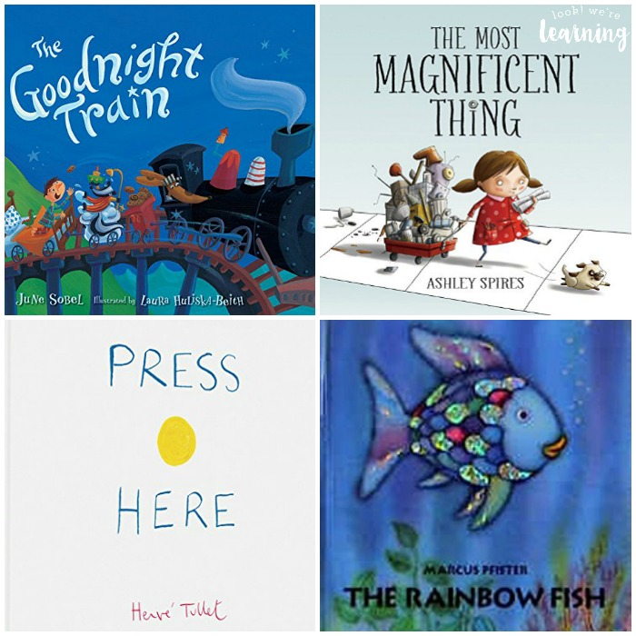Books for Preschoolers to Enjoy - Look! We're Learning!